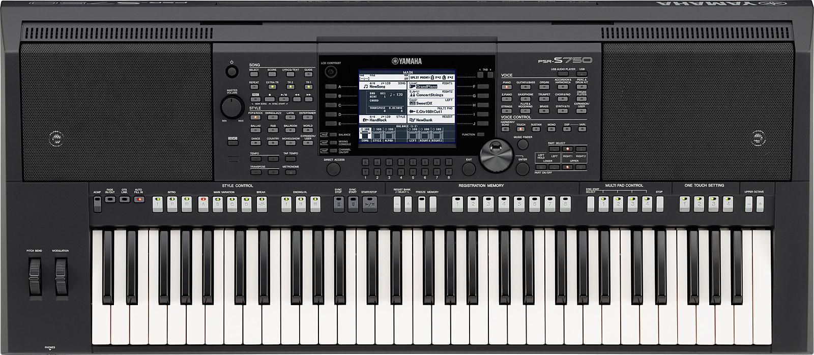 yamaha 单键盘电子琴 psr-s770